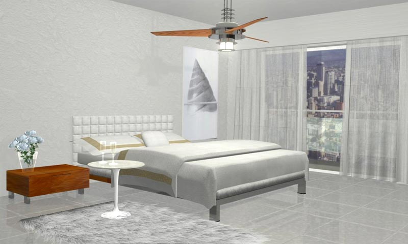 Bad 3D Architectural Interior Design