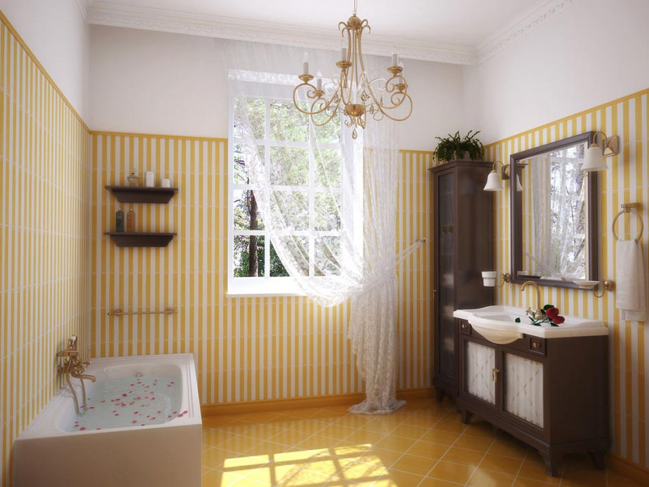 Bathroom 3D Interior renderings
