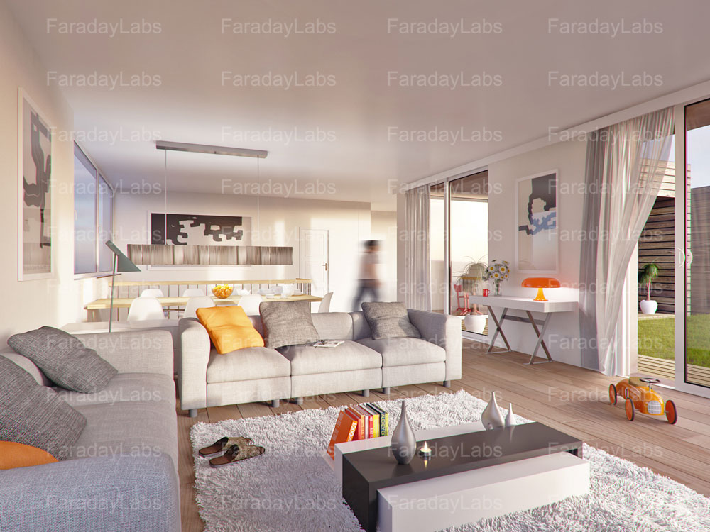 3d room design by faraday 3d