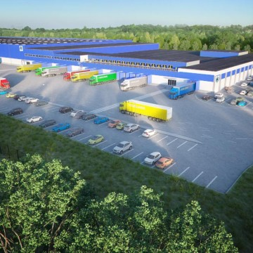 Logistic center in 3D