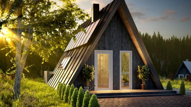 duo cabin by faraday 3D