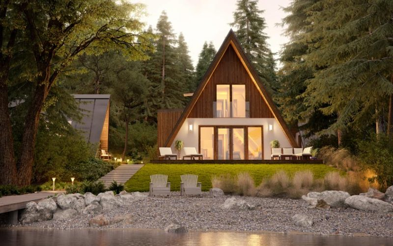cabin in the woods by faraday 3d