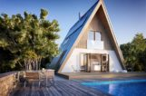 trio cabin by faraday 3D