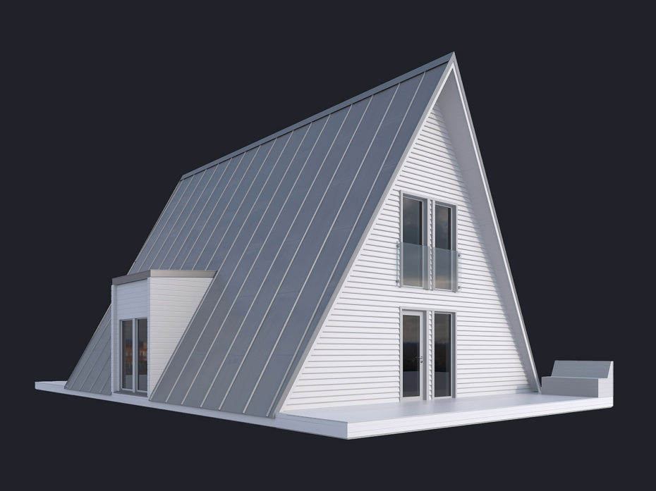 House model in clay by Faraday 3D