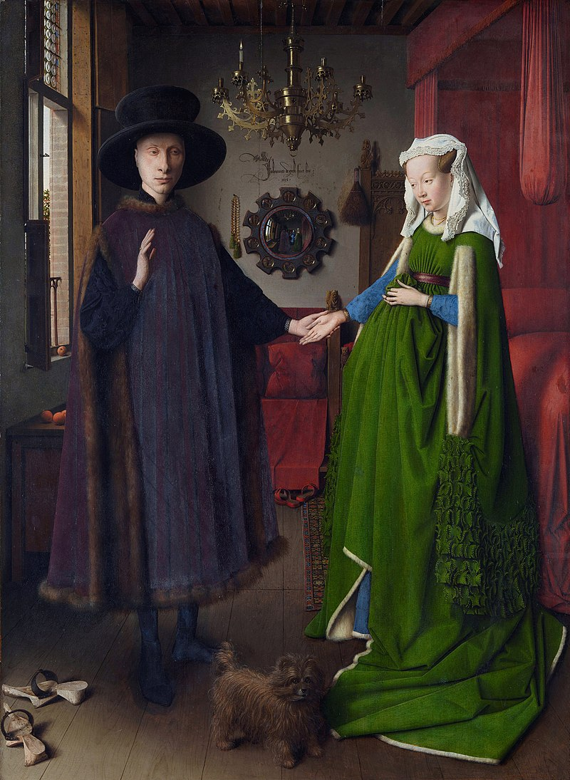 Author: Arnolfini Portrait, Jan Van Eyck